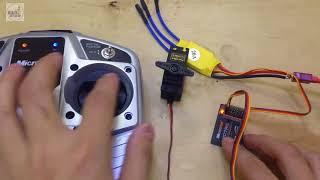 Tay điều khiển Microzone MC6C - Hướng Dẫn Test  Nhóm Review