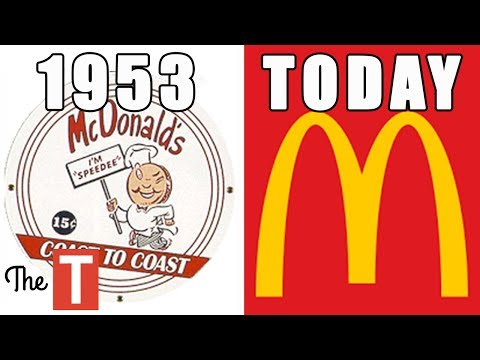 Thumbnail: 15 Famous Logos That Looked VERY DIFFERENT Back Then