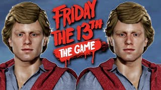 CHAD VS. CHAD FIGHT CLUB - Friday the 13th The Game Gameplay