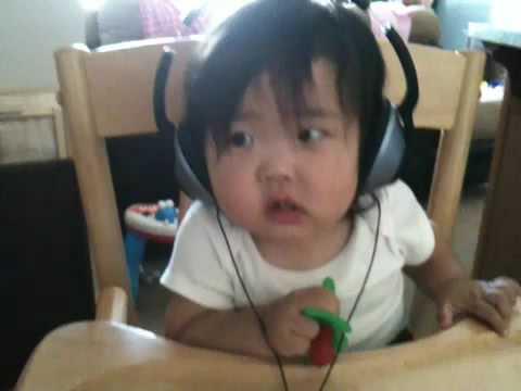Sophia & Headphones