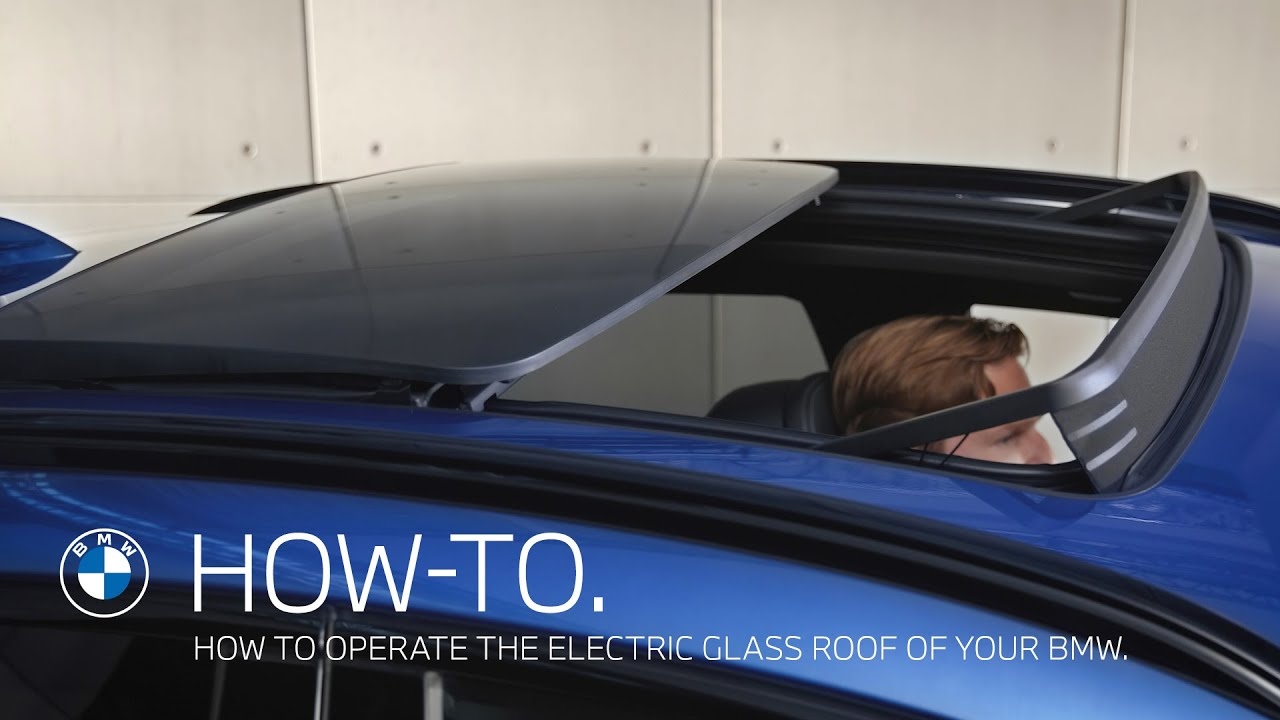 How to operate the electric glass roof of  your BMW – BMW How-To