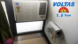 Voltas 1 5 ton Window AC Unboxing 5 Star AC 180 DZA Big billion days OFFER