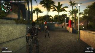 Just Cause 2 Mission 1 & Mission 2