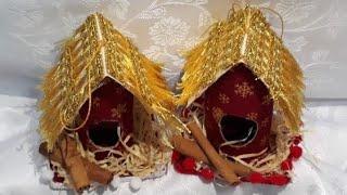 Enfeite de Natal – Casinha de Passarinho para árvore de Natal e para enfeitar a casa