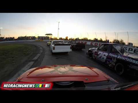 Wreck Mars Start of Lincoln Welders 100 @ Lake County Speedway - 6/6/15 - NEO Racing News