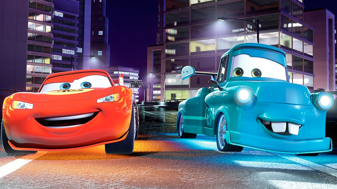 Car Movie Coloring Pages : Cars movie colouring pages youtube