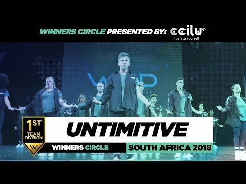 Untimitive | 1st Place Team Division | Winners Circle | World Of Dance South Africa 2018 | #WODZA18