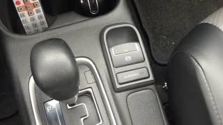 Mitsubishi Outlander III.  Электромеханический ручной тормоз