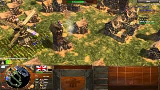 Age of Empires III Multiplayer Gameplay - Imperiale Langbogenschützen! [Deutsch/HD]