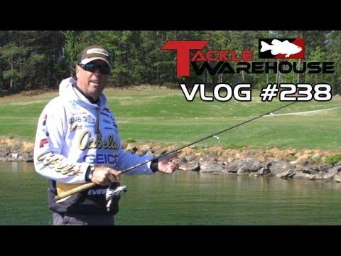 Bass Fishing With David Walker At Lake Lanier Part 1 - Tackle Warehouse VLOG#238