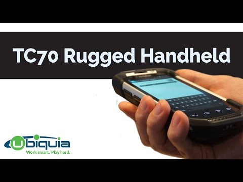 Zebra TC70 Rugged Handheld Computer Review
