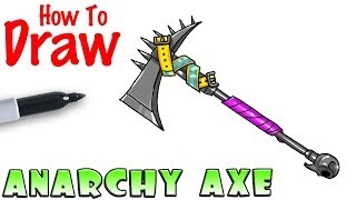 How to Draw Anarchy Axe | Fortnite