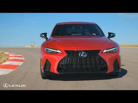 2021 Lexus IS 350 F SPORT and IS 300 Walk Around | Lexus