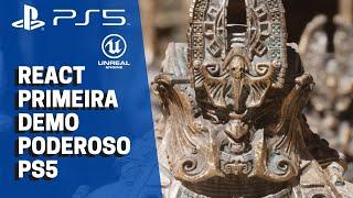 EPIC GAMES traz PRIMEIRA GAMEPLAY do PS5 na nova UNREAL ENGINE 5