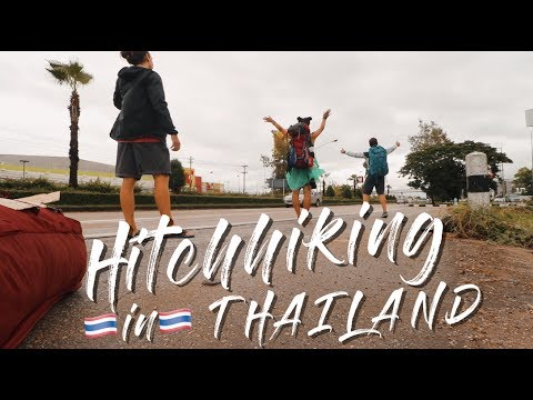 How to HITCHHIKE in THAILAND | Traveling from Chiang Mai to Bangkok for FREE | Travel Vlog Ep. 21