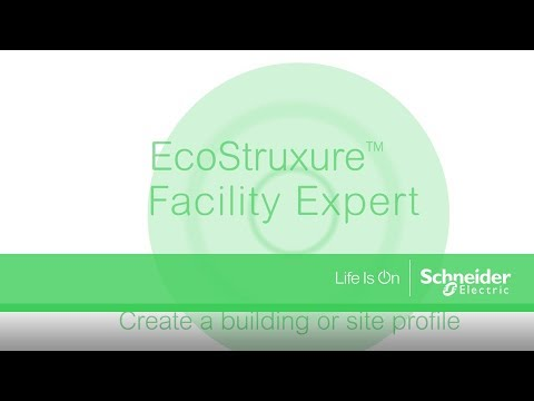 EcoStruxure™ Facility Expert - Configure a building