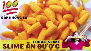 100 corn slime GIANT! How to Make Edible Slime | Edible Corn Slime