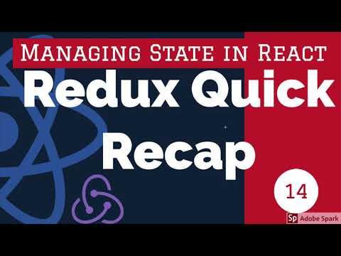 React Redux Quick Recap #14