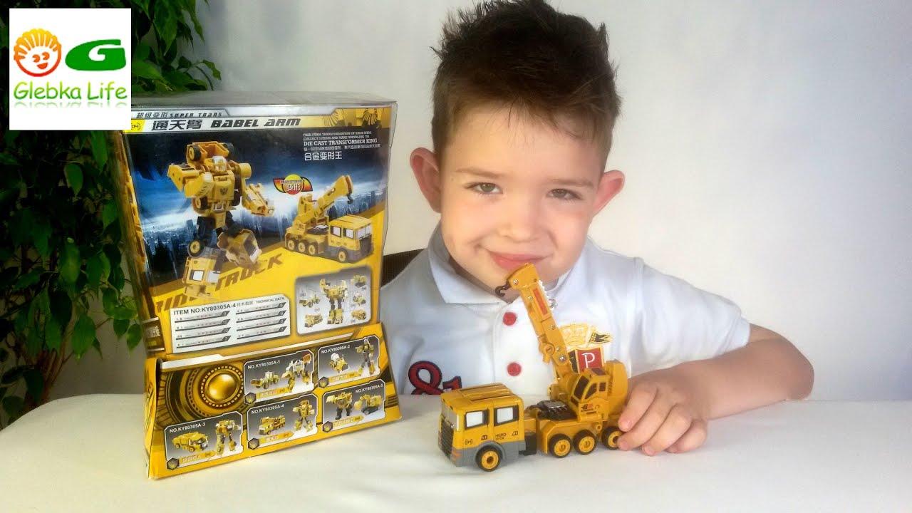 Трансформер машина. Игрушки для мальчиков. Transformer machine. Toys for boys.