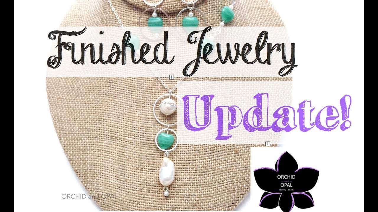 Download Finished Jewelry Update | Beading Project Share 3-April 2018