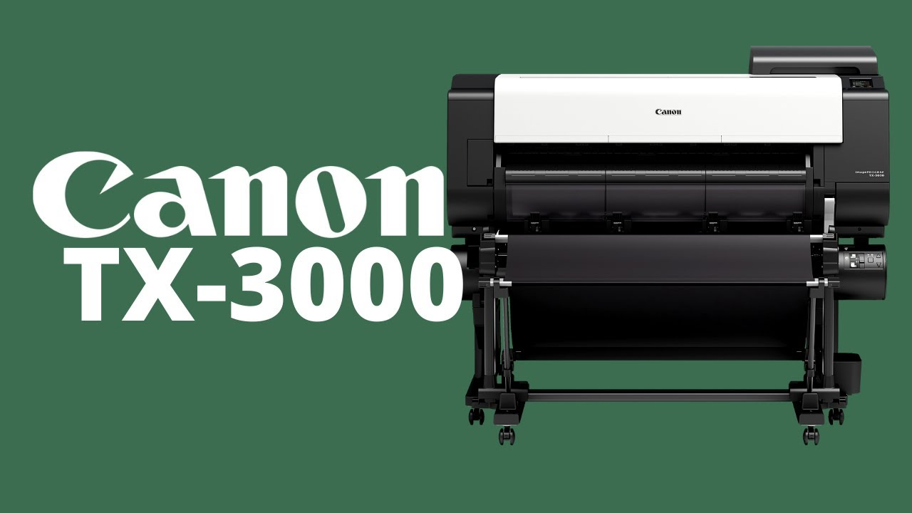 Canon imagePROGRAF TX-3000 Overview Video