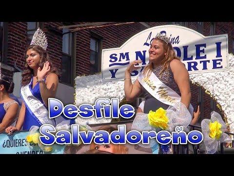 Desfile Salvadoreño New Jersey 2017-Bergenline Ave