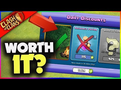 What's BEST in the Clash of Clans Gem Trader!! (& What's WORST?)