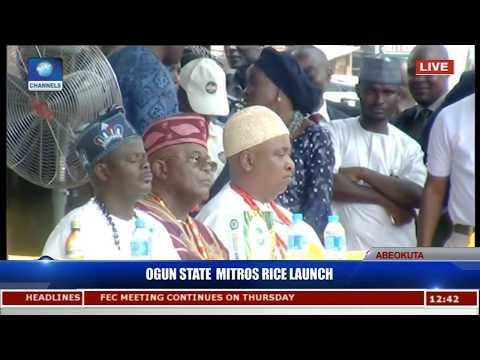 Ogun State Launches MITROS Rice (Photo, Video)
