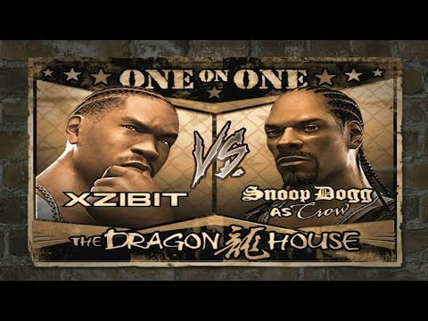 Def Jam Fight For NY - Xzibit Vs. Crow (HARD)