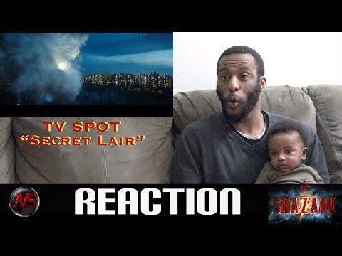 "REACTION to SHAZAM! TV Spot ""Secret Lair"" – In Theaters April 5 | #Shazam"