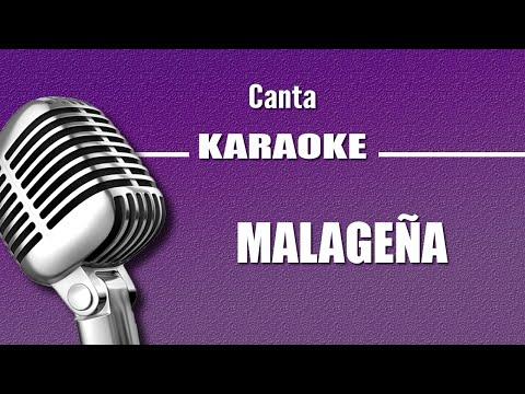 Malagueña, con letra karaoke