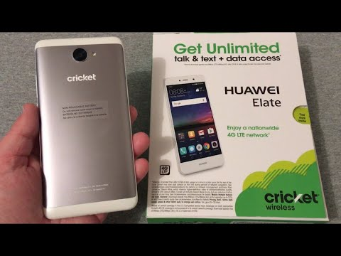 Huawei Elate Unboxing & First Look (Cricket Wireless)