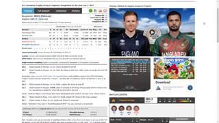 Bangladesh vs England LIVE Today Match   LIVE STREAM Champions Trophy 2017   S&C Al