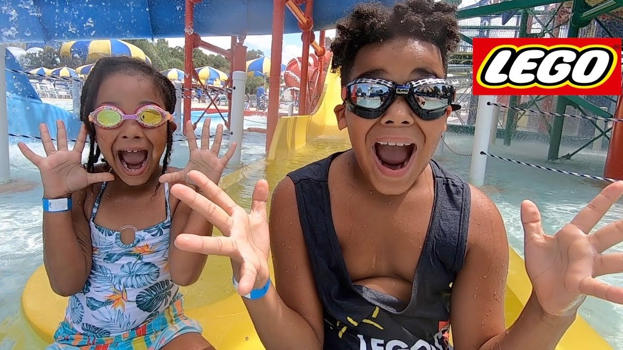 FamousTubeKIDS Go To LEGOLAND WaterPark!