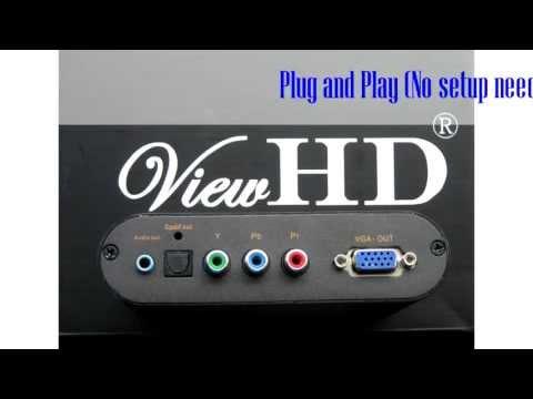 ViewHD HDMI To Component / VGA Converter
