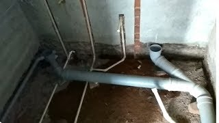 Drainage and concealed wearing installation user guide