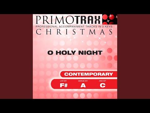 O Holy Night - Performance Backing Track