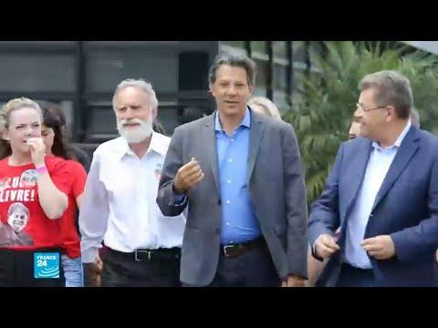 فرناندو حداد مرشح حزب العمال لرئاسيات البرازيل يزور كل أسبوع لولا في سجنه  - 15:55-2018 / 10 / 2