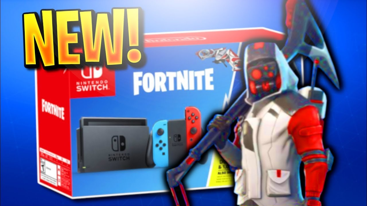 nintendo switch with fortnite