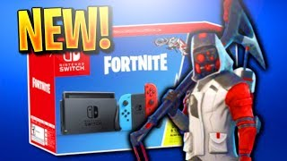 "How To Get NEW ""DOUBLE HELIX SKIN BUNDLE"" in Fortnite! NEW NINTENDO SWITCH DOUBLE HELIX SKIN BUNDLE!"