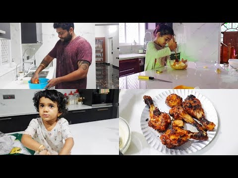 cooking-as-a-family-vlog---bread-pudding,-tandoori-chicken,-chicken-kabab---shop101-app