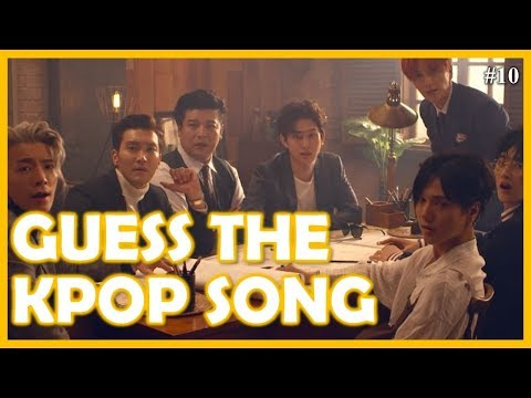 Guess the Kpop Song #10