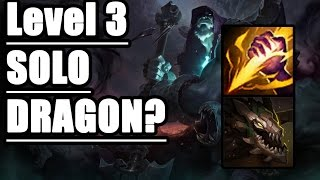 REWORK Jungle Yorick Level 3 SOLO DRAGON - Guide and Tips - League of Legends