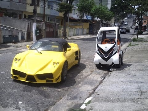 Brazilian make small car in garage (Part 5)