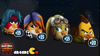 Angry Birds Star Wars II - REBELS PE Level 4 - 6 Walkthrough 3 Stars