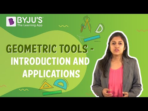 Geometric Tools - Introduction And Applications