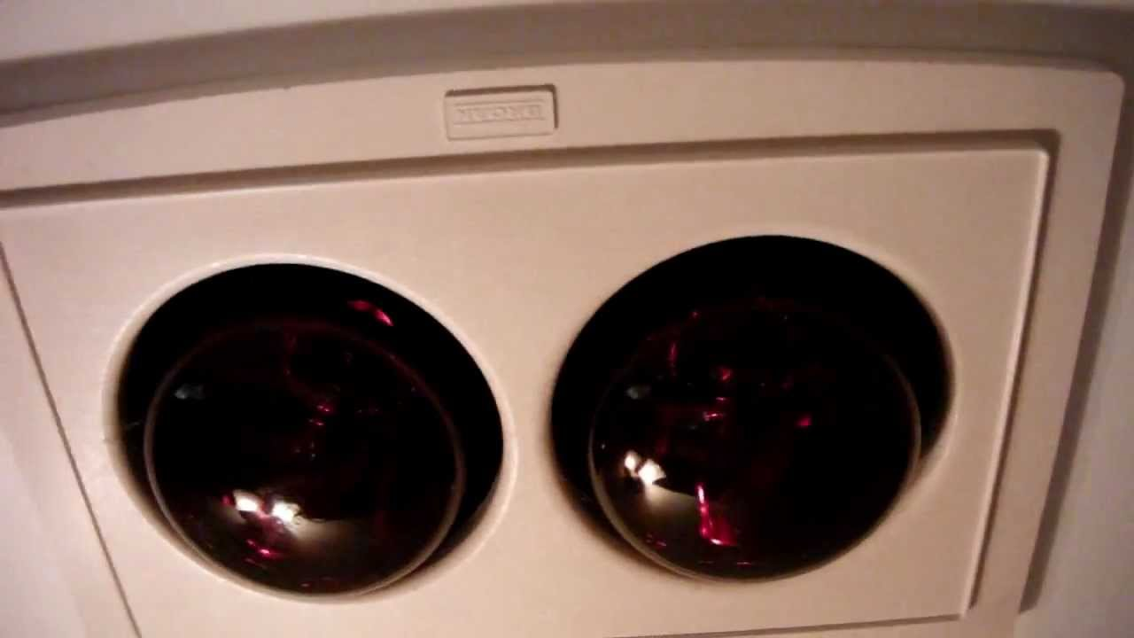 Broan Heat Lamp/exhaust Fans At My Grandmau0027s Lake House!   YouTube