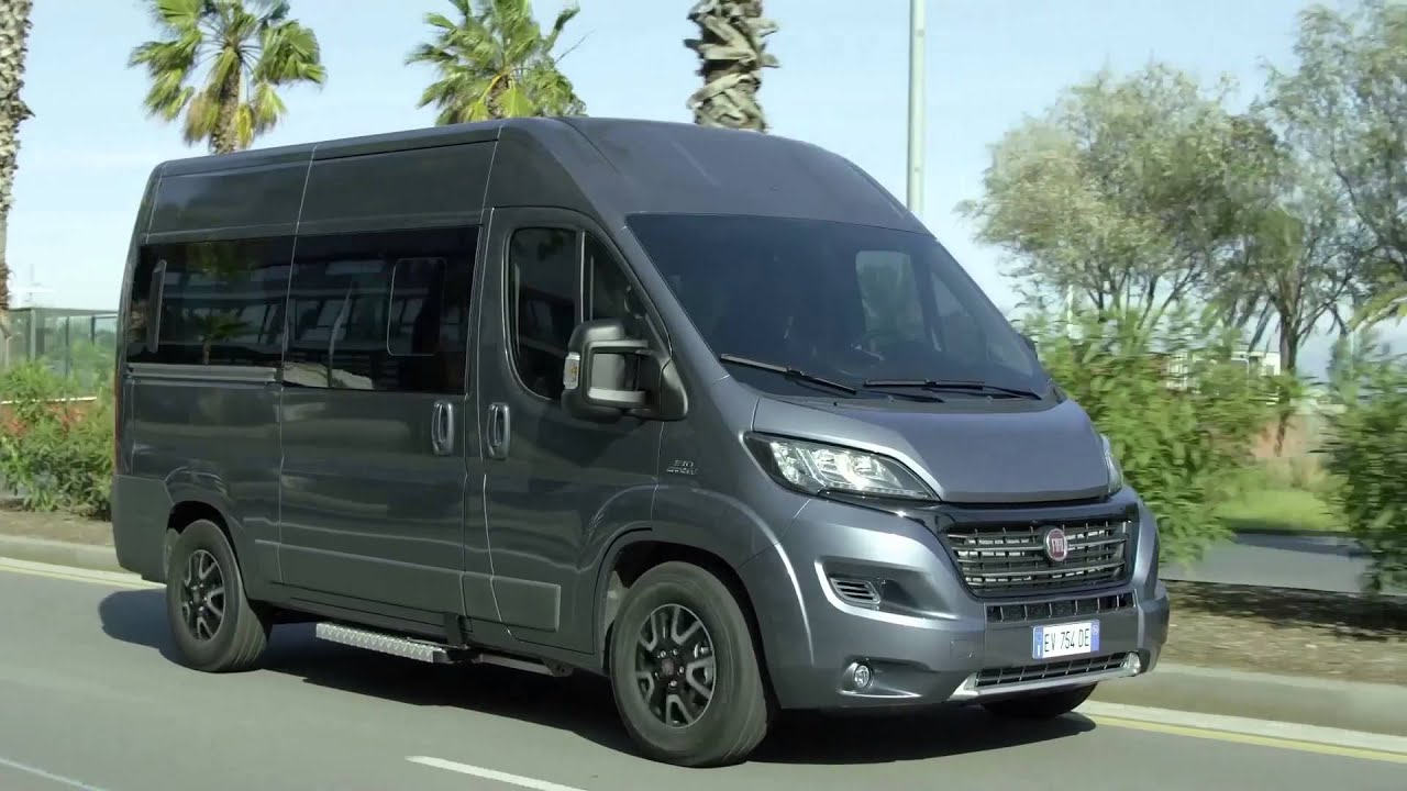 der neue fiat ducato mini bus fahrbericht automototv deutsch youtube. Black Bedroom Furniture Sets. Home Design Ideas