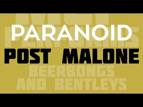 Paranoid - Post Malone cover by Molotov Cocktail Piano