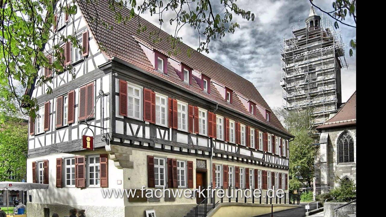 Kirchheim unter Teck Eine Fachwerktour durch die historische Altstadt  YouTube